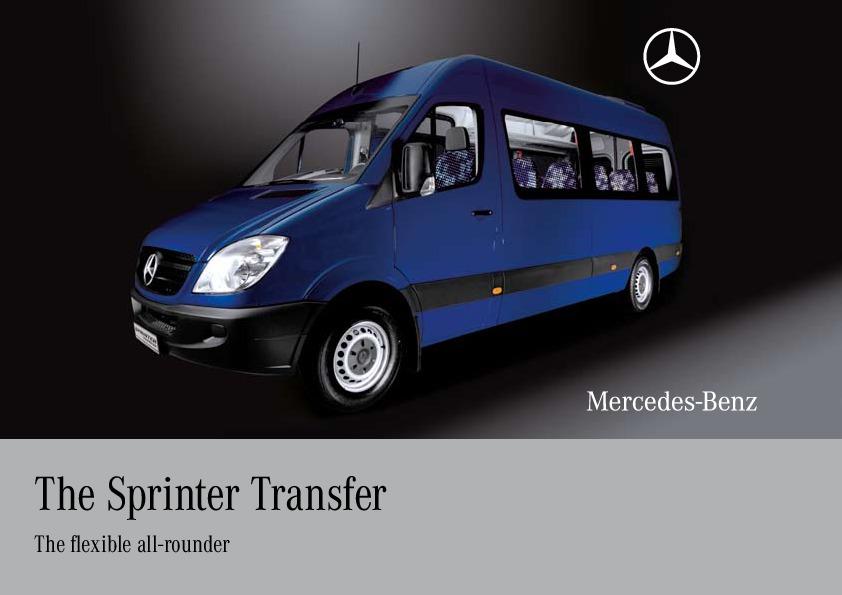 2010 mercedes benz sprinter transfer van ncv3 catalog for 2010 mercedes benz sprinter