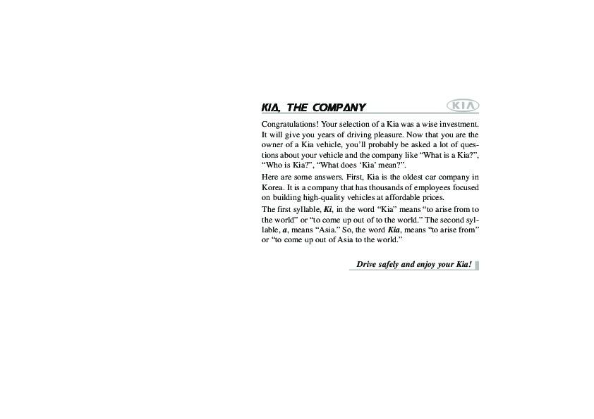 2009 kia spectra owners manual rh auto filemanual com 2009 kia spectra owners manual pdf 2009 Kia Spectra Service Schedule