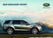 Land Rover Discovery Sport Catalogue Brochure, 2015 page 1