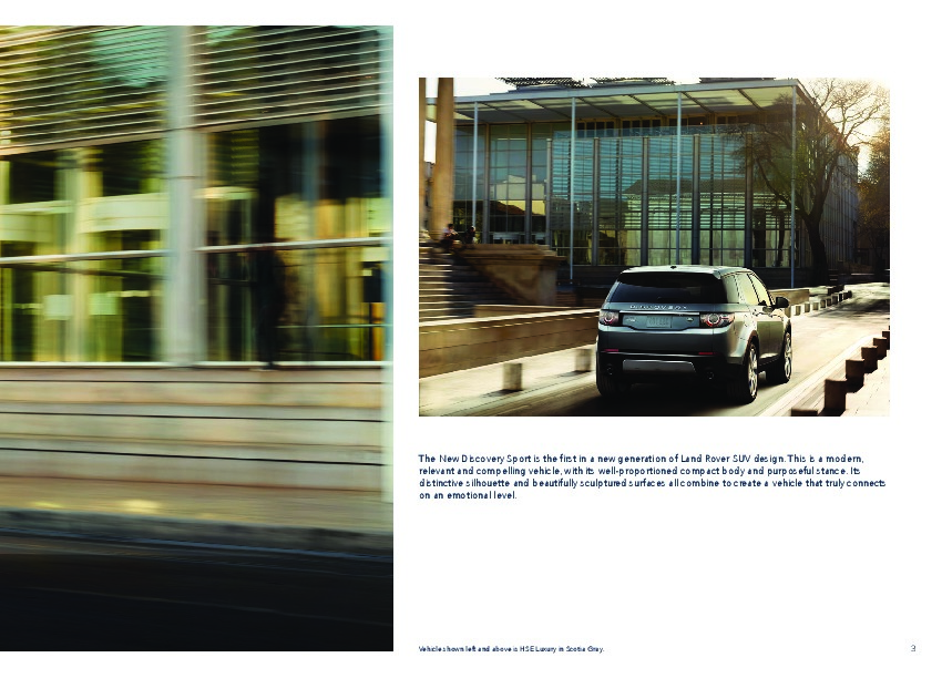 2015 Land Rover Discovery Sport Catalog Brochure