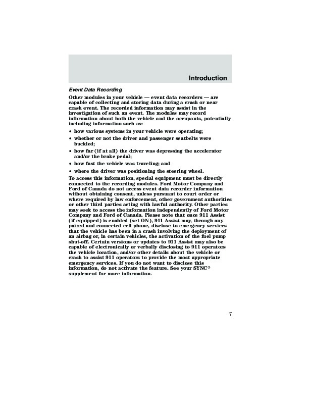 Related For 2009 Ford Escape Owners Manual PDF