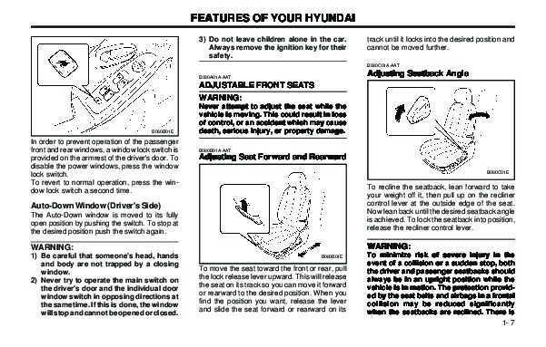 2003 Hyundai Elantra Owners Owners Manual