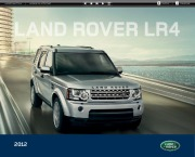 Land Rover LR4 Catalogue Brochure, 2012 page 1