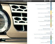 Land Rover LR4 Catalogue Brochure, 2012 page 3