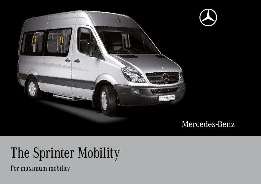 2010 mercedes benz sprinter mobility van ncv3 catalog for 2010 mercedes benz sprinter