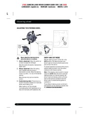 Land Rover Discovery 4 Handbook Owners Manual, 2014, 2015 page 24