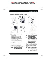 Land Rover Discovery 4 Handbook Owners Manual, 2014, 2015 page 25