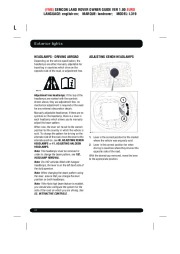 Land Rover Discovery 4 Handbook Owners Manual, 2014, 2015 page 40