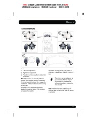 Land Rover Discovery 4 Handbook Owners Manual, 2014, 2015 page 47