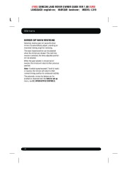 Land Rover Discovery 4 Handbook Owners Manual, 2014, 2015 page 48