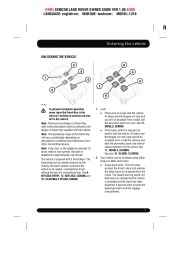 Land Rover Discovery 4 Handbook Owners Manual, 2014, 2015 page 5