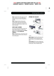 Land Rover Discovery 4 Handbook Owners Manual, 2014, 2015 page 9