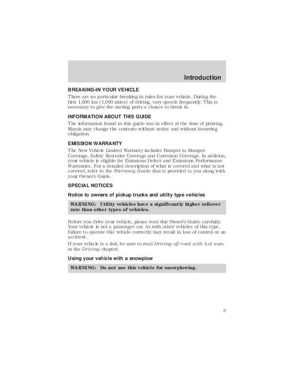 2001 mazda tribute owners manual rh filemanual com 2001 mazda tribute service manual pdf 2001 mazda tribute repair manual pdf free