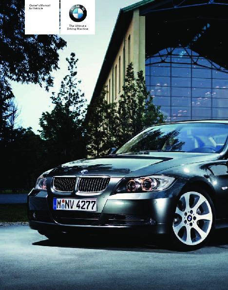 2007 bmw 3 series 323i 328i 328xi 335i e91 owners manual rh auto filemanual com 2007 bmw 328i service manual pdf 2007 bmw 328i service manual pdf