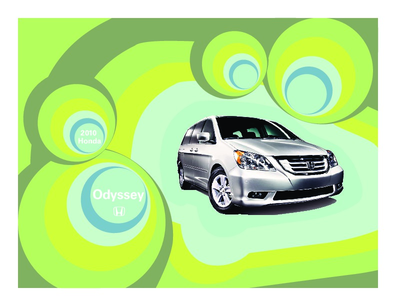 Honda Odyssey Touring  Owners Manual