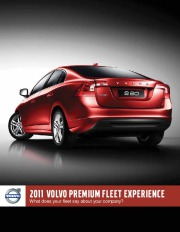 2011 Volvo S40 S60 S80 C30 C70 V50 XC60 XC70 XC90 Brochure Catalogue page 1