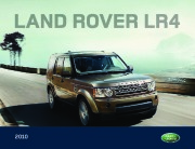 2010 Land Rover LR4 Catalog Brochure page 1
