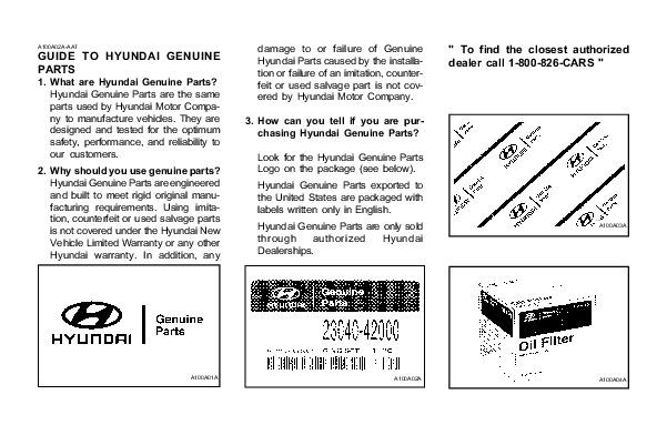 2001 hyundai grandeur xg300 3 0l owners manual. Black Bedroom Furniture Sets. Home Design Ideas