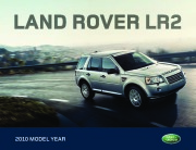 2010 Land Rover LR2 Catalog Brochure page 1