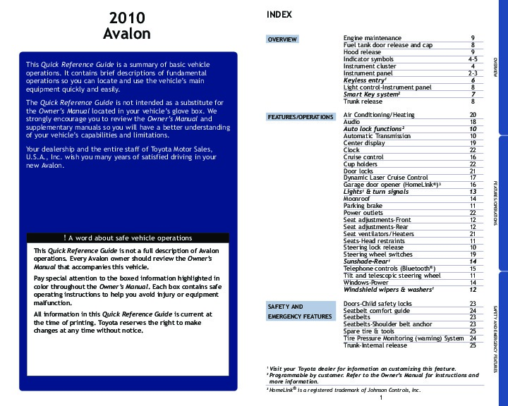 2010 toyota avalon reference owners guide Toyota Manual Transmission Diagram Toyota Manual Transmission Oil