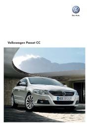 2009 Volkswagen Passat CC VW Catalog page 1