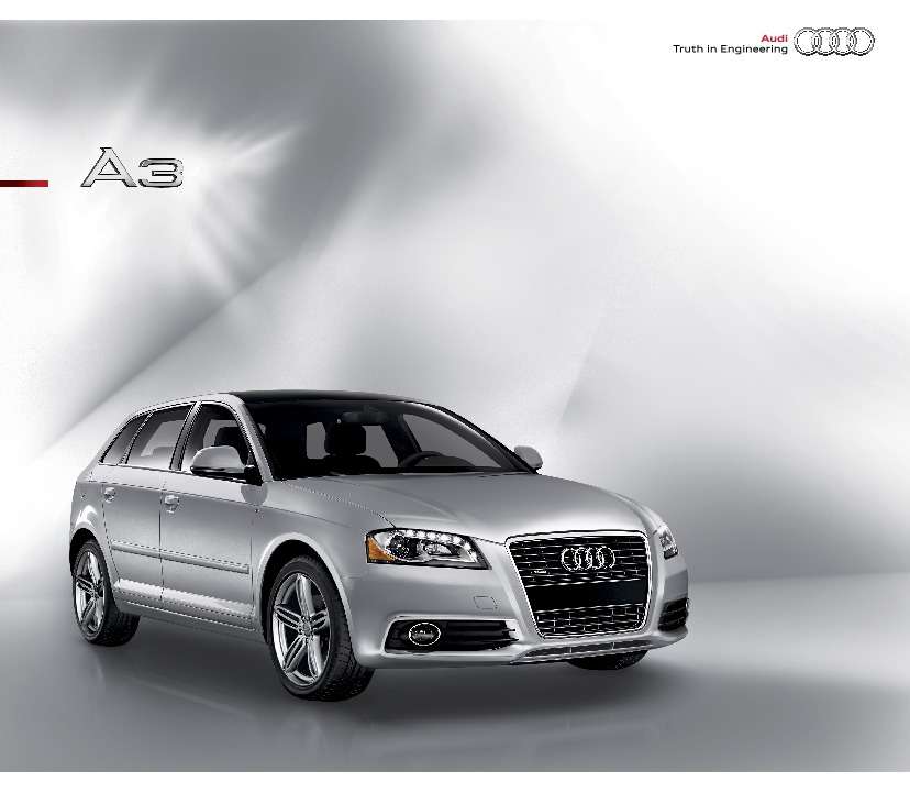 2010 audi a3 2 0 tfsi a3 2 0 tdi brochure catalogue. Black Bedroom Furniture Sets. Home Design Ideas