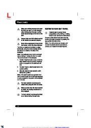 Land Rover Range Rover Sport Handbook Owners Manual, 2014, 2015 page 24