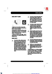 Land Rover Range Rover Sport Handbook Owners Manual, 2014, 2015 page 33