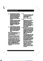 Land Rover Range Rover Sport Handbook Owners Manual, 2014, 2015 page 6