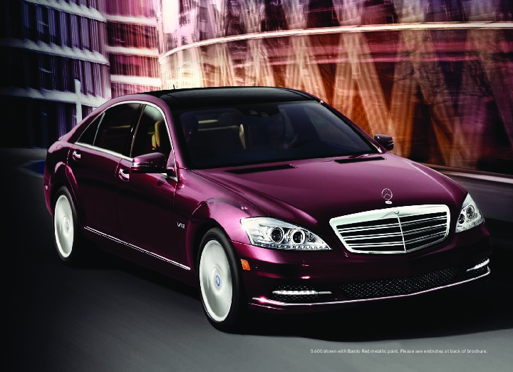 2011 mercedes benz s class s400 hybrid s550 s600 s63 amg for Mercedes benz s class 2011