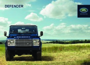 2014 Land Rover Defender Catalog Brochure page 1