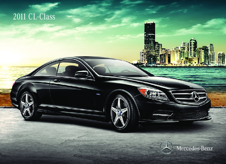 2011 mercedes benz cl class cls550 cl600 cl63 amg cl65 amg for Mercedes benz 600 amg