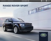 Land Rover Range Rover Sport Catalogue Brochure, 2013 page 1