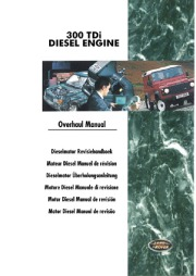 Land Rover Discovery, Defender, Range Rover Gearbox Parts Catalog, 1997 page 1