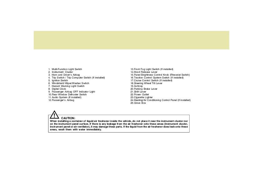 Hyundai 2005 Santa Fe Owners Manual Pdf Download Autos Post