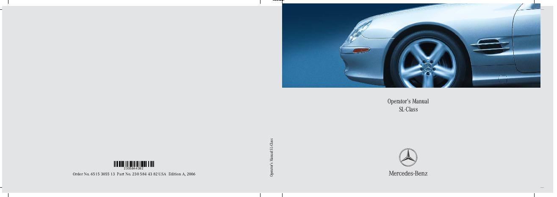 2006 mercedes benz sl500 sl55 amg sl600 sl65 amg owners manual rh auto filemanual com 2011 Mercedes S-Class 2007 Mercedes S-Class
