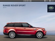 Land Rover Range Rover Sport 2 Catalogue Brochure, 2014 page 1