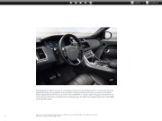 Land Rover Range Rover Sport 2 Catalogue Brochure, 2014 page 10