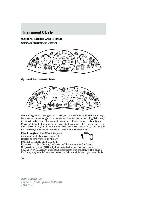 2006 ford focus owners manual. Black Bedroom Furniture Sets. Home Design Ideas