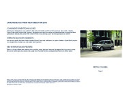 Land Rover LR4 Catalogue Brochure, 2015 page 2