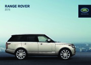 Land Rover Range Rover Catalogue Brochure, 2015 page 1