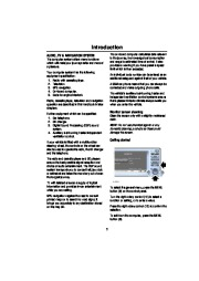 Land Rover Range Rover Audio and Navigation System Manual, 2001 page 6