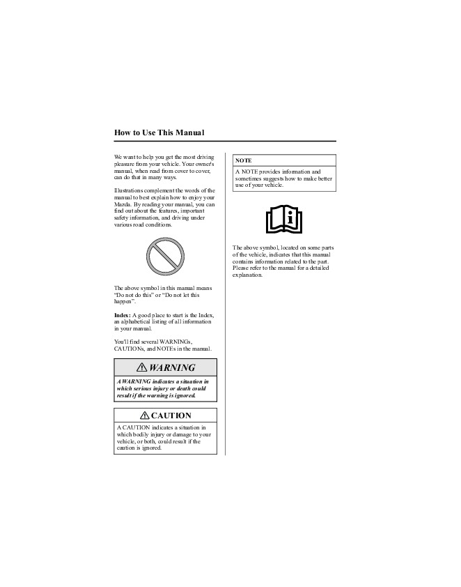 2005 mazda 6 owners manual rh auto filemanual com Mazda CX-9 2005 mazda 6 owners manual online