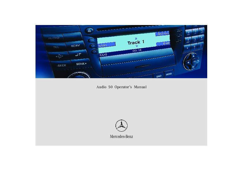 mercedes benz audio 50 sound system owners manual rh filemanual com Avaya Telephone Systems Manual Manual System Restore