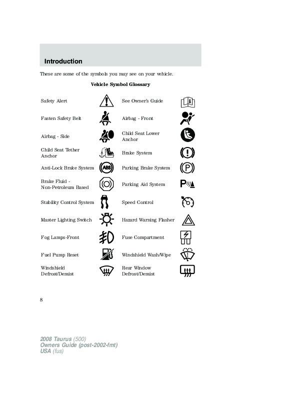 2008 ford taurus owners manual rh auto filemanual com 2007 ford taurus service manual 2008 ford taurus owners manual pdf