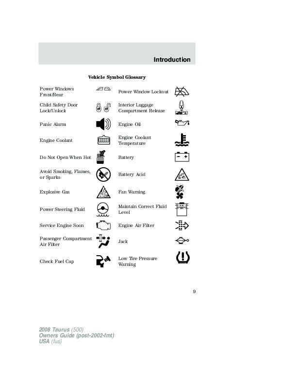 2008 ford taurus owners manual rh auto filemanual com 2008 ford taurus owners manual 2008 ford taurus x service manual pdf