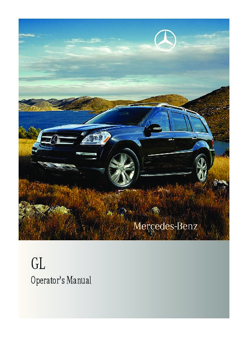 2011 mercedes benz gl350 bluetec gl450 gl550 x164 owners manual rh auto filemanual com gl450 owners manual gl450 user guide