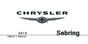 2010 Chrysler Sebring Owners Manual page 1