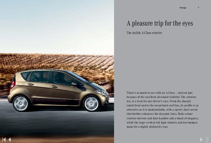 2011 mercedes benz a class a160 a180 cdi w169 catalog uk rh auto filemanual com Mercedes W169 Truck Mercedes A Klasse