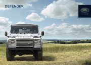 Land Rover Defender Catalogue Brochure, 2015 page 1